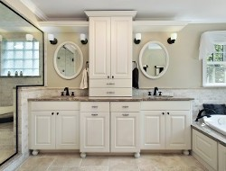 Two Sink Bathroom - Bathroom Remodeling